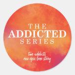 The Addicted Series Sticker