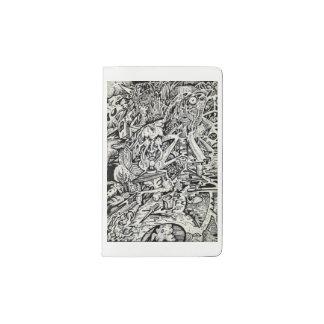 The Adept, by Brian Benson Pocket Moleskine Notebook