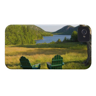 The Adirondack Chairs on the lawn of the Jordan iPhone 4 Cover