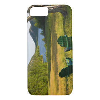 The Adirondack Chairs on the lawn of the Jordan iPhone 8/7 Case