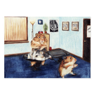 The Adjustment ACEO Art Trading Cards Large Business Card