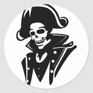 The Admiral Classic Round Sticker