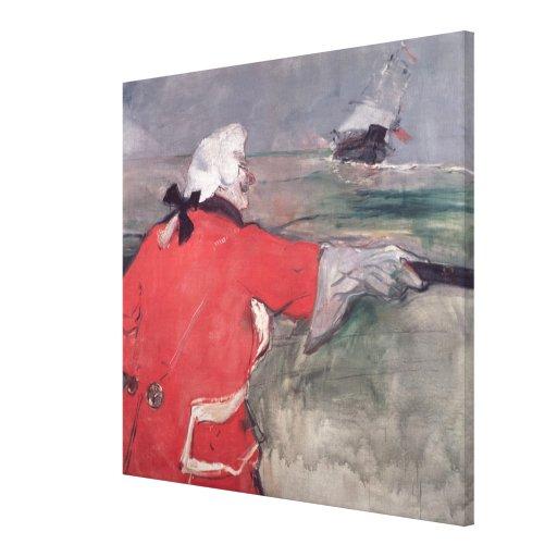 The Admiral Viaud Canvas Print
