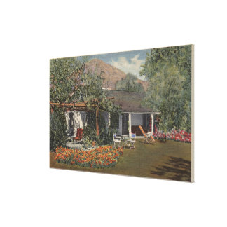 The Adobe (Oldest House in Palm Springs) Canvas Print