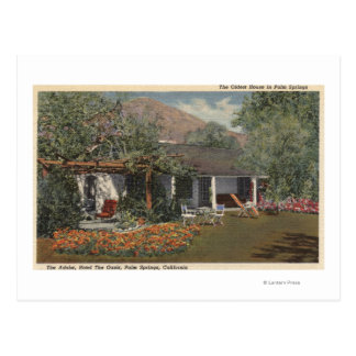 The Adobe (Oldest House in Palm Springs) Post Card