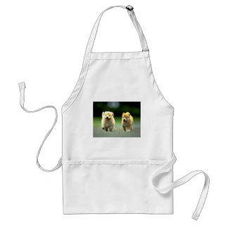The Adorable Running Doggies Apron
