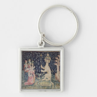 The Adoration of the Beast Keychain