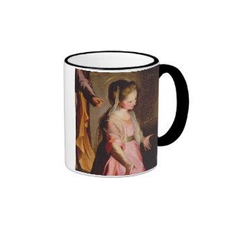 The Adoration of the Child, 1597 Ringer Mug