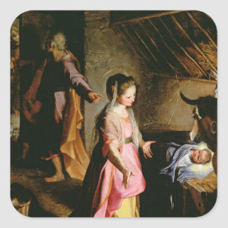 The Adoration of the Child, 1597 Stickers
