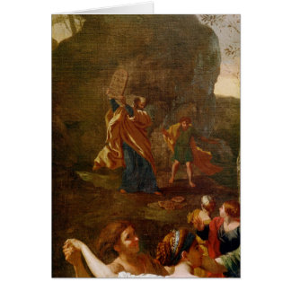 The Adoration of the Golden Calf, before 1634 Card