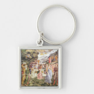 The Adoration of the Golden Calf Keychain
