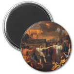 The Adoration Of The Golden Calf Magnets