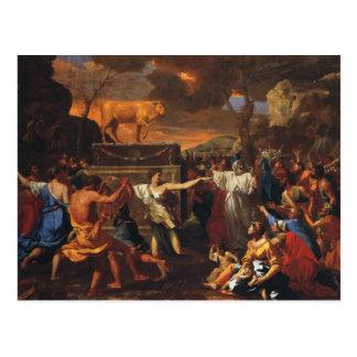 The Adoration Of The Golden Calf Postcard