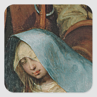 The Adoration of the Kings, 1564 2 Square Sticker