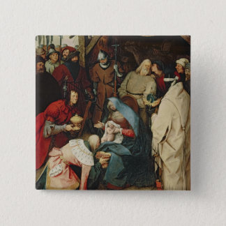 The Adoration of the Kings, 1564 Pinback Button
