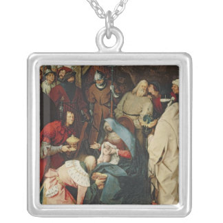 The Adoration of the Kings, 1564 Silver Plated Necklace