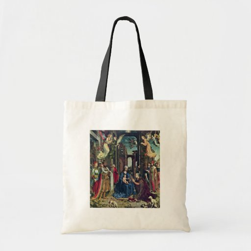 The Adoration Of The Kings By Jan Gossaert (Best Q Canvas Bags