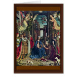 The Adoration Of The Kings By Jan Gossaert (Best Q Greeting Cards