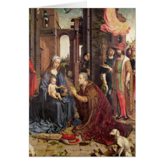 The Adoration of the Kings Card