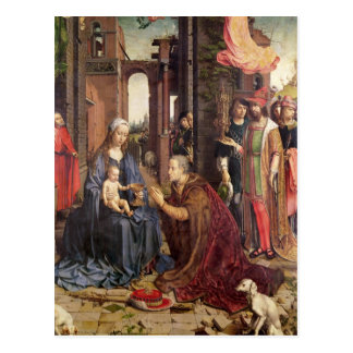 The Adoration of the Kings Postcard