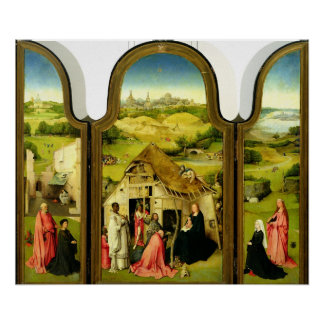 The Adoration of the Magi, 1510 Poster