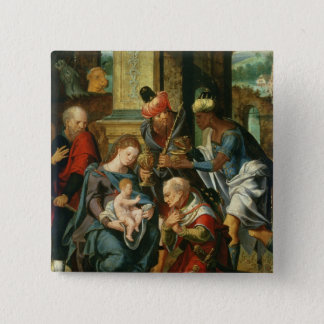 The Adoration of the Magi, 1530 Button
