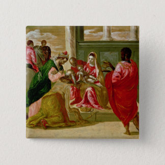 The Adoration of the Magi, 1567-70 Button