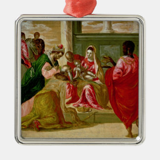The Adoration of the Magi, 1567-70 Metal Ornament