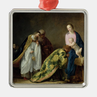 The Adoration of the Magi, 1638 Metal Ornament