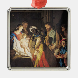 The Adoration of the Magi 2 Metal Ornament