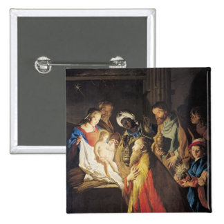 The Adoration of the Magi 2 Pinback Button