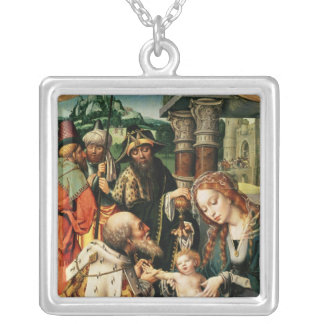 The Adoration of the Magi 2 Silver Plated Necklace