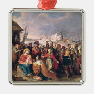 The Adoration of the Magi 3 Metal Ornament