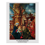 The Adoration Of The Magi By Albrecht Altdorfer Poster