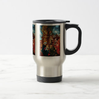The Adoration Of The Magi By Altdorfer Albrecht 15 Oz Stainless Steel Travel Mug