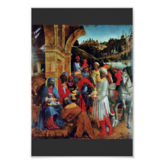 The Adoration Of The Magi By Foppa Vincenzo Posters