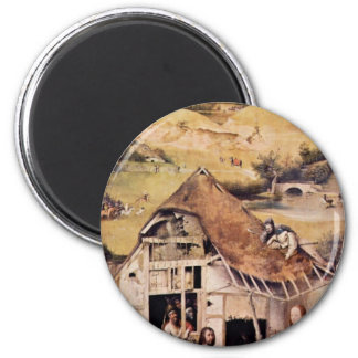 The Adoration Of The Magi.,  By Hieronymus Bosch ( Refrigerator Magnet
