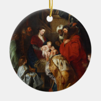 The Adoration of the Magi by Peter Paul Rubens Ceramic Ornament