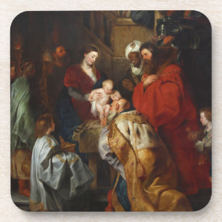 The Adoration of the Magi by Peter Paul Rubens Coaster