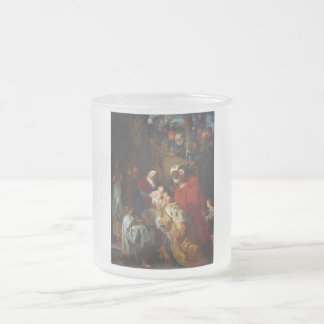 The Adoration of the Magi by Peter Paul Rubens 10 Oz Frosted Glass Coffee Mug