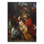 The Adoration of the Magi by Peter Paul Rubens Photo Art