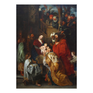 The Adoration of the Magi by Peter Paul Rubens Photo Print