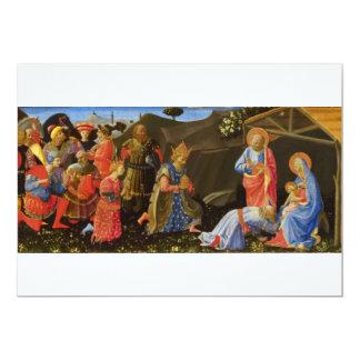 The Adoration of the Magi by Zanobi Strozzi Card
