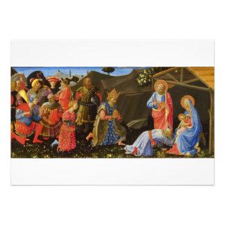 The Adoration of the Magi by Zanobi Strozzi Personalized Invitations