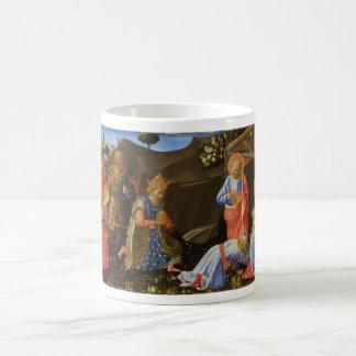 The Adoration of the Magi by Zanobi Strozzi Classic White Coffee Mug