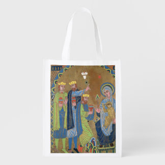 The Adoration of the Magi c 1189 Reusable Grocery Bags