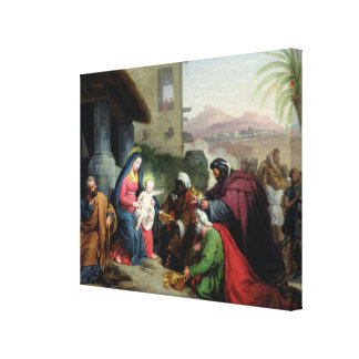 The Adoration of the Magi, c.1833-36 Canvas Print