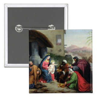 The Adoration of the Magi, c.1833-36 Pinback Button