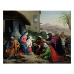 The Adoration of the Magi, c.1833-36 Poster