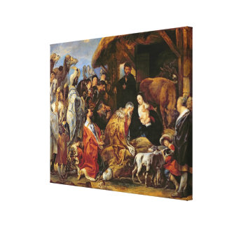 The Adoration of the Magi Canvas Print